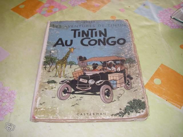 bd tintin au congo 1947 collection. Black Bedroom Furniture Sets. Home Design Ideas