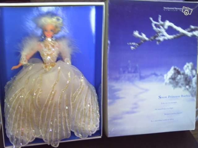 Barbie de collection princesse des neiges collection - Barbie princesse des neiges ...