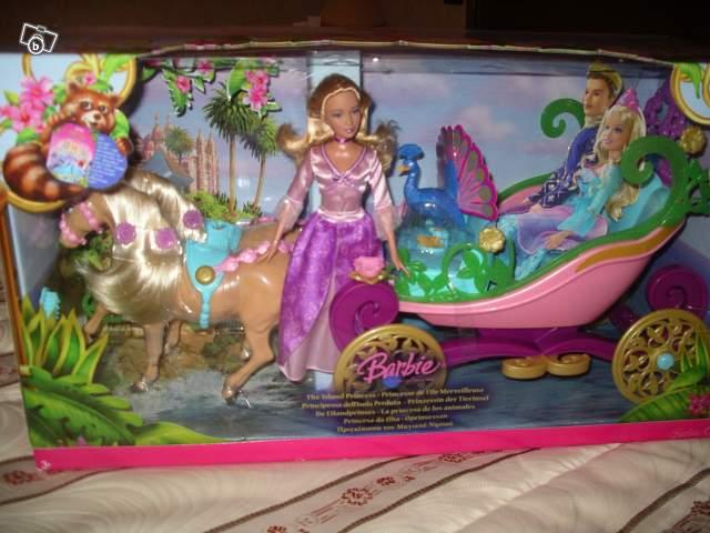 Barbie et sa cal che royale collection - Barbie caleche ...