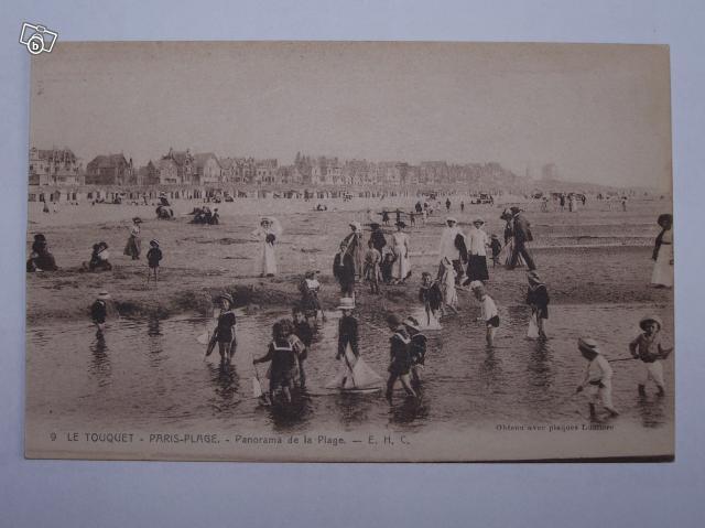 Description du produit carte postale des années 1900 &;panorama de la