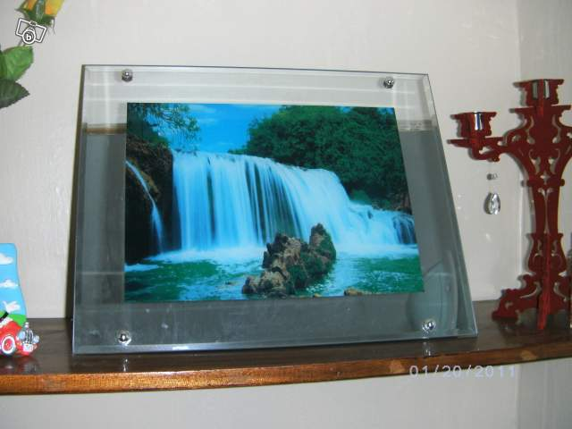 Cadre cascade lumineux collection - Cadre lumineux cascade ...