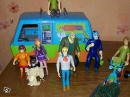 Camion et personnages scooby doo collection - Personnage scooby doo ...