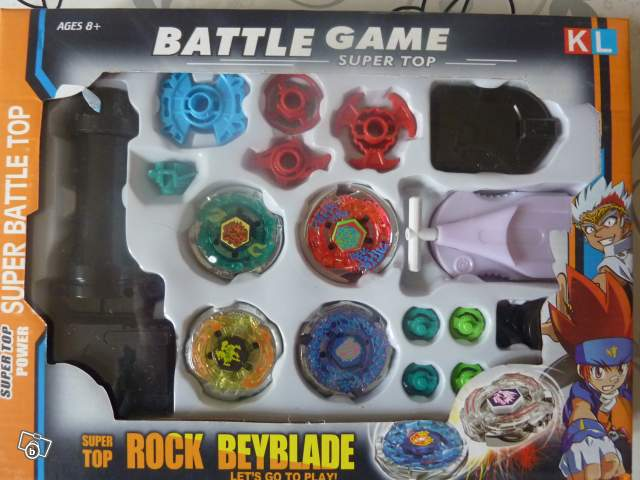 Coffret Toupie Beyblade M 233 Tal Fusion Collection