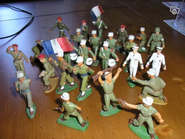 Collection De Figurines De Soldats Starlux Collection