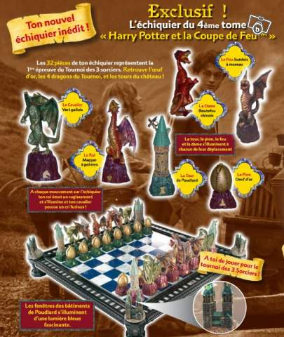 Echiquier harry potter la coupe de feu collection - Harry potter et la coupe de feu streaming gratuit ...