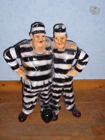 Figurine Laurel Et Hardy Collection