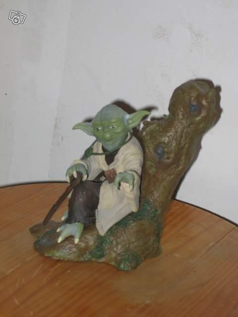 figurine maitre yoda star wars kotobukiya collection. Black Bedroom Furniture Sets. Home Design Ideas
