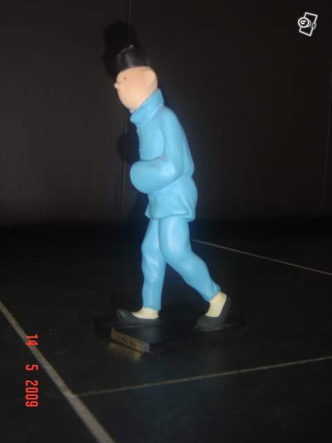 Figurine Tintin Lotus Bleu Leblon Delienne Collection