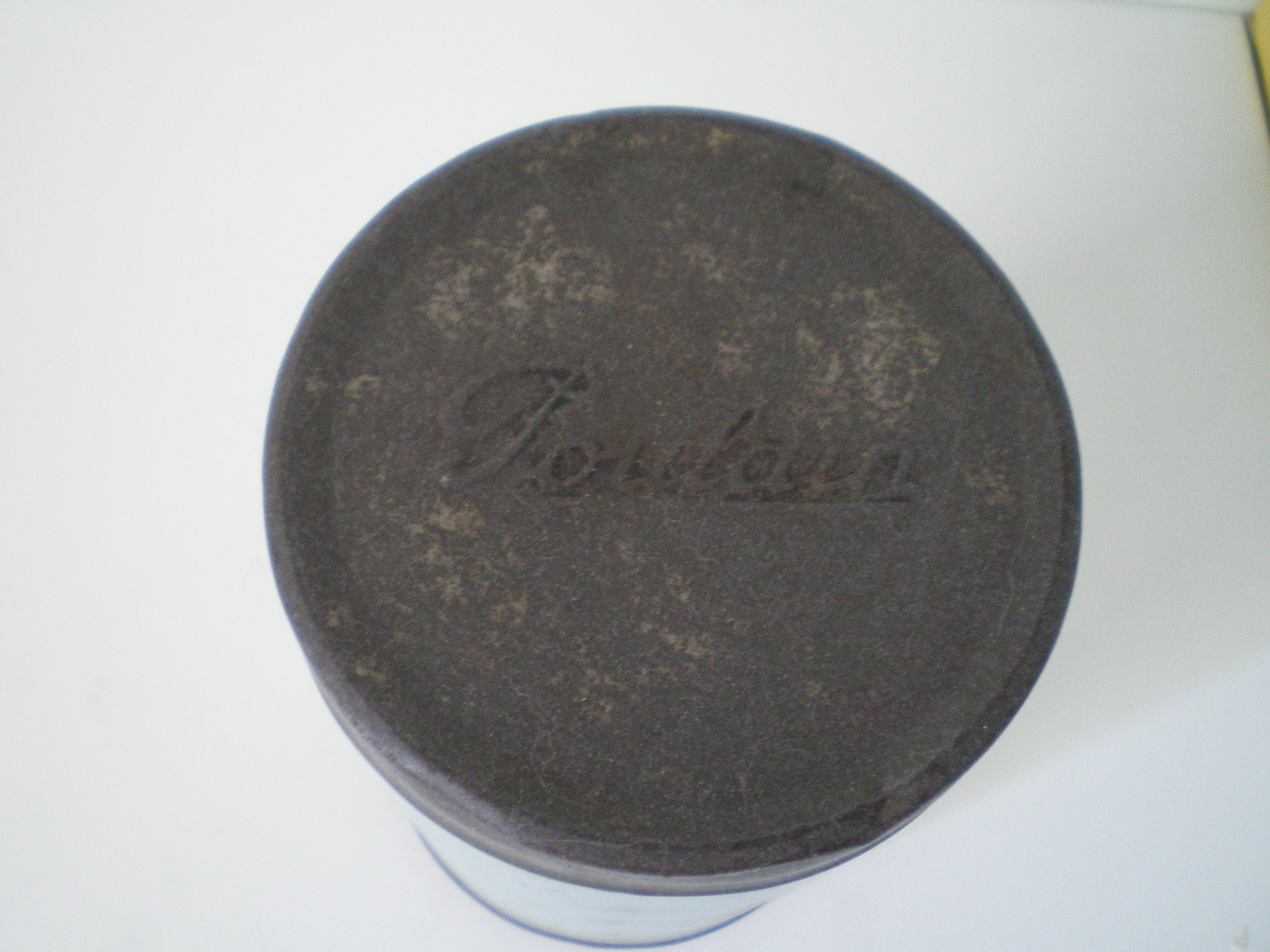 Boite en m tal ancienne chocolat poulain collection - Boite metal ancienne ...