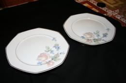 plats sur pied avec d cors fleurs f legrand cie porcelaine de limoges collection. Black Bedroom Furniture Sets. Home Design Ideas