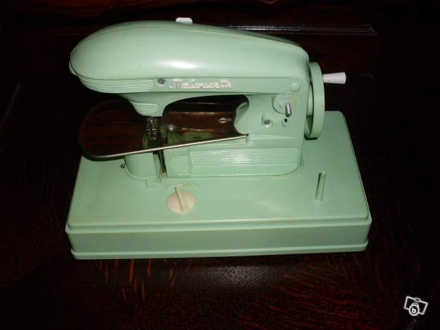 Jouet machine coudre ma cousette 1950 1960 collection for Machine a coudre 1950