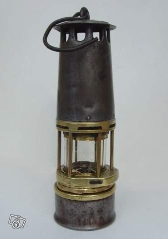 Lampe De Mineur Wolf Hubert Joris 1901 Collection