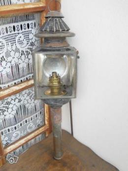 lampe de fiacre p trole collection. Black Bedroom Furniture Sets. Home Design Ideas