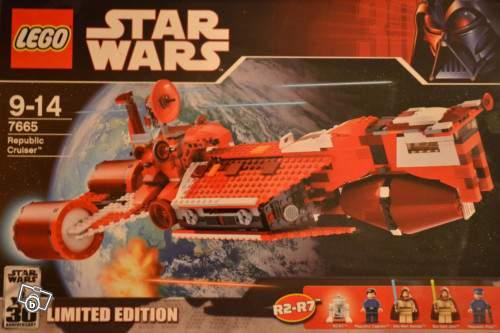 Lego star wars 7665 croiseur de la republique epis collection - Croiseur star wars lego ...