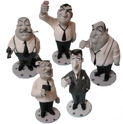 Les Tontons Flingueurs Georges Lautner Statue Figu Collection