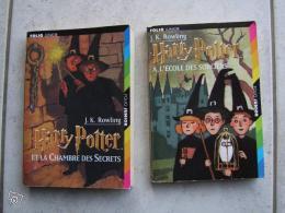 Lot de deux livres harry potter et la chambre des secrets - Harry potter et la chambre des secrets livre ...