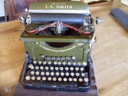 machine crire ancienne corona de smith 10 collection. Black Bedroom Furniture Sets. Home Design Ideas