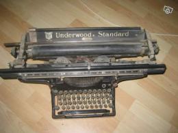 machine crire ancienne underwood standard collection. Black Bedroom Furniture Sets. Home Design Ideas