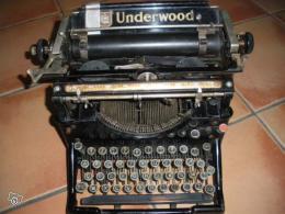 machine crire ancienne underwood ann e 1901 collection. Black Bedroom Furniture Sets. Home Design Ideas