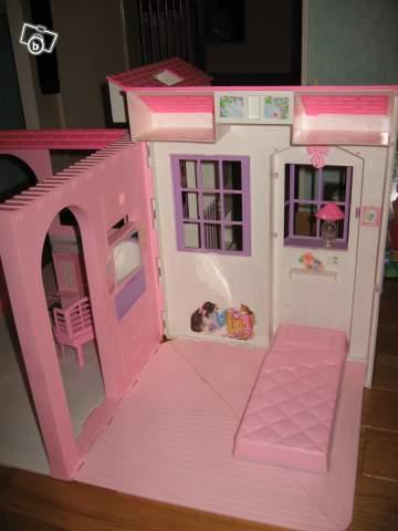 Maison barbie portable - Maison portable ...