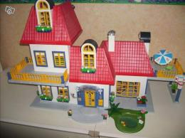 Maison contemporaine playmobil avec extension collection for Playmobil modern house 7337