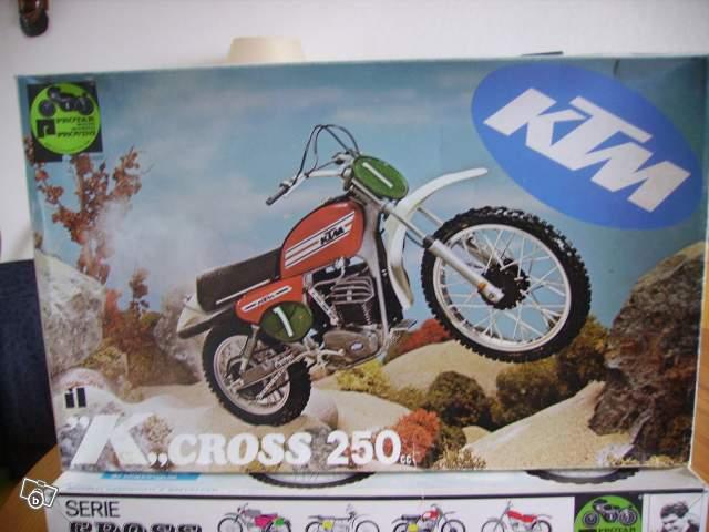 maquette moto ktm k cross 250cc collection. Black Bedroom Furniture Sets. Home Design Ideas