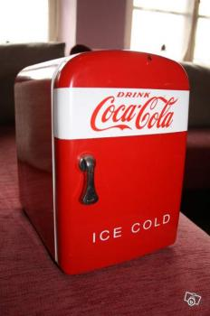 Mini frigo coca cola bureau et camping collection for Frigo coca cola grande