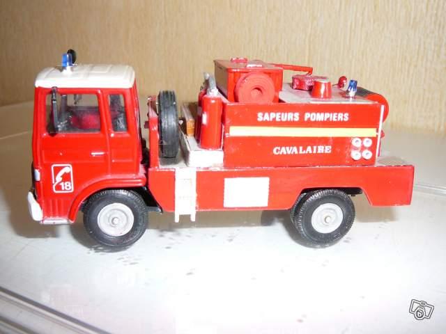 miniature camion de pompier norev collection. Black Bedroom Furniture Sets. Home Design Ideas