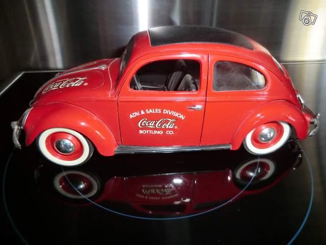 Miniature De Voiture Solido Coccinelle Coca Cola Collection
