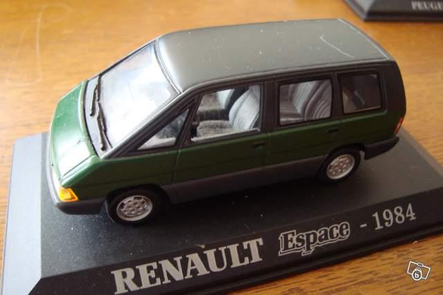 miniature de voiture renault espace 1984 collection. Black Bedroom Furniture Sets. Home Design Ideas