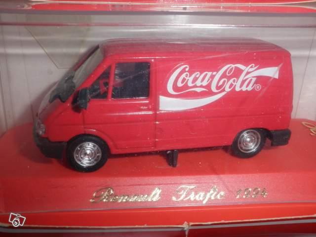 mod le r duit camion renault trafic coca cola 1994 collection. Black Bedroom Furniture Sets. Home Design Ideas