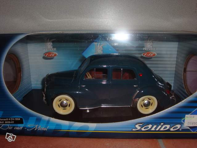 mod u00e8le r u00e9duit renault 4 cv 1954 collection