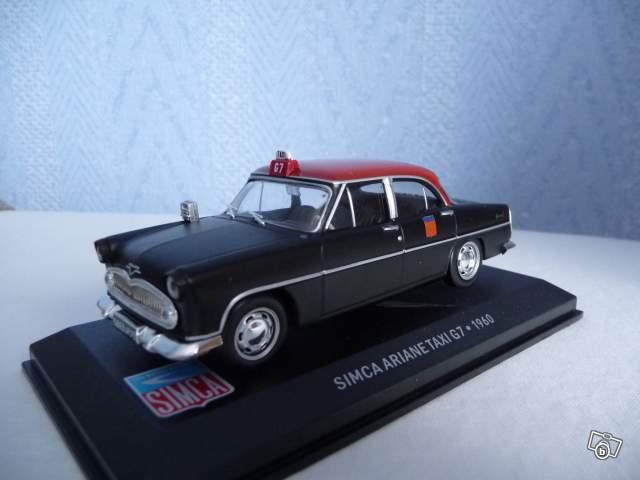 mod le r duit simca ariane taxi g7 1960 collection. Black Bedroom Furniture Sets. Home Design Ideas