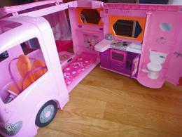 Camping Car Barbie Ancien Modele
