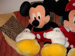 peluches g antes mickey et minnie collection. Black Bedroom Furniture Sets. Home Design Ideas