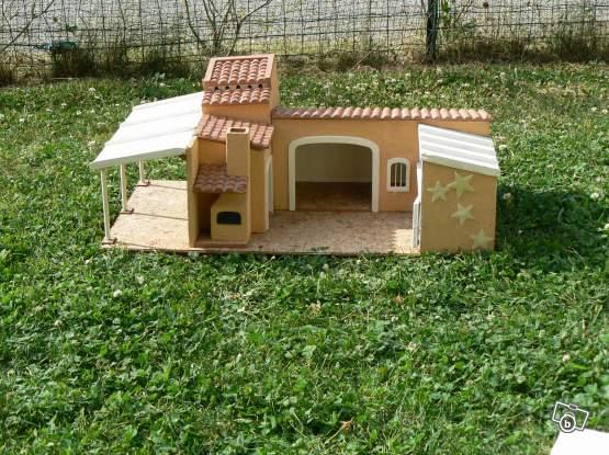 petite maison de poup e en bois collection. Black Bedroom Furniture Sets. Home Design Ideas