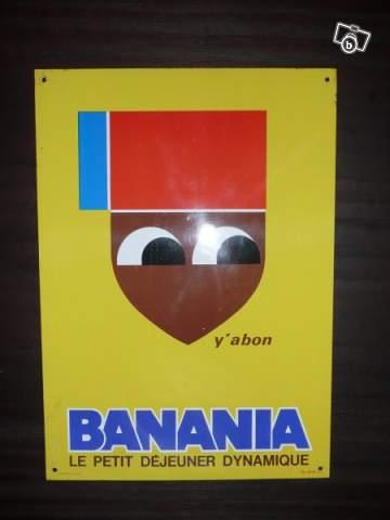 plaque en t le banania collection. Black Bedroom Furniture Sets. Home Design Ideas
