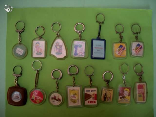 Porte cl s publicitaires ann es 60 collection for Porte cle annee 60 70
