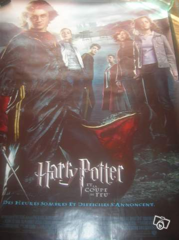 Poster de film harry potter et la coupe de feu collection - Film harry potter et la coupe de feu ...