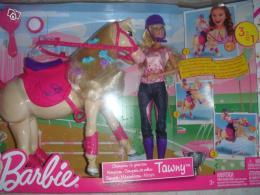 poup e barbie et son cheval champion tawny collection. Black Bedroom Furniture Sets. Home Design Ideas