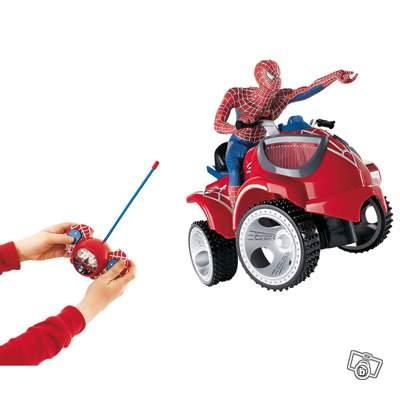 Quad radiocommand spiderman collection - Quad spiderman ...