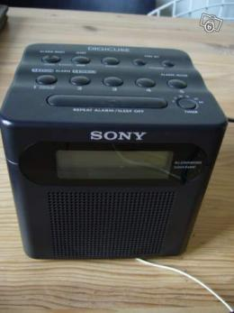 radio reveil sony digicube collection. Black Bedroom Furniture Sets. Home Design Ideas
