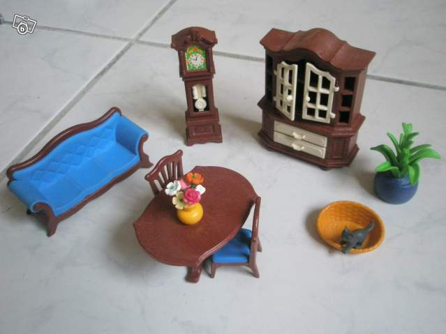 Salle manger tradionnelle playmobil collection for Salle manger playmobil