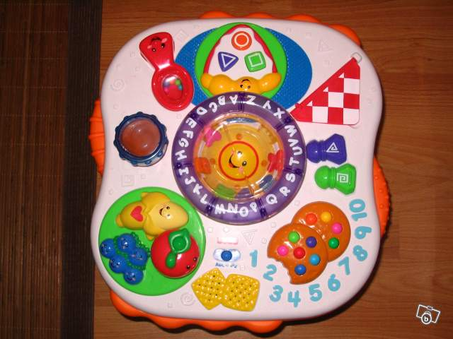 Table d 39 activit s fisher price collection - Fisher price table d activite ...