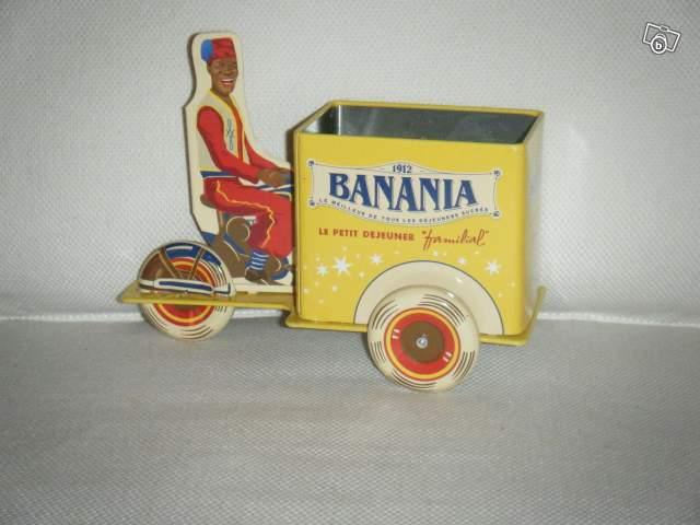 triporteur banania en m tal collection. Black Bedroom Furniture Sets. Home Design Ideas