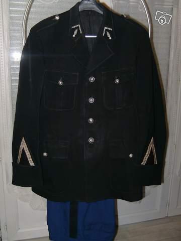 Ancien Uniforme De Gendarme Collection