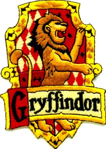 Ecusson blason gryffondor harry potter collection - Harry potter blason ...