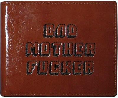 Portefeuille bad mother de pulp fiction collection - Porte monnaie pulp fiction ...