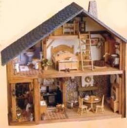 maison miniature rustique atlas collection. Black Bedroom Furniture Sets. Home Design Ideas